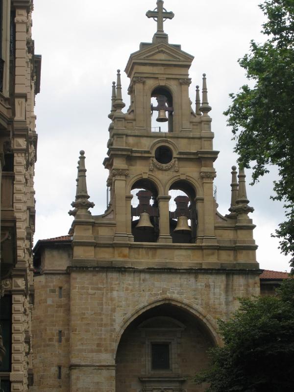 3 De Julio De 2009 Iglesia Parroquial De San Vicente Mártir De Abando En Bilbao Vizcaya Campanas Quintana