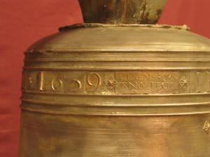 Campana de 1639 fundida por Clemente Quintana